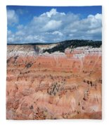 Point Supreme Overlook - Cedar Breaks - Utah  Fleece Blanket