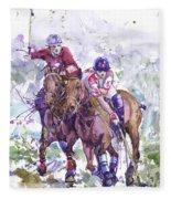 Watercolor Horse Painting Print  by Valentina Ra
