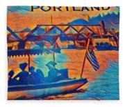 Portland  Fleece Blanket