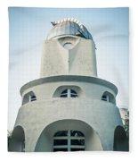 Potsdam - Einstein Tower Fleece Blanket