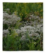 Prairie Bouquet  Fleece Blanket