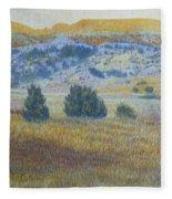 Prairie Realm Of West Dakota Fleece Blanket