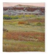 Prairie Reverie On The Western Edge Fleece Blanket