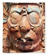 Pre-columbian Eye Glasses, Palenque, Mexico Fleece Blanket