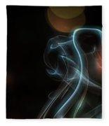 Presence - Smoke Photography Fleece Blanket