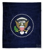 President Seal Eagle Fleece Blanket