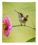 Pretty On Pink Fleece Blanket