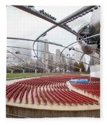 Pritzker Pavilion - Millennium Park Fleece Blanket