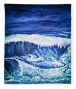 Promethea Ocean Triptych 2 Fleece Blanket