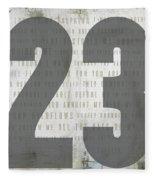 Psalm 23 Fleece Blanket