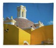 Puebla Library Fleece Blanket