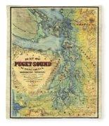 Puget Sound Fleece Blanket