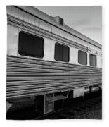 Pullman Passenger Cars Santa Fe Railroad Fleece Blanket