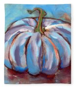 Pumpkin No. 4 Fleece Blanket
