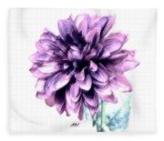 Purple Blend Petals Two Fleece Blanket