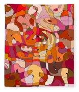Puzzle Fleece Blanket
