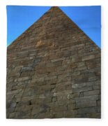 Pyramid Of Cestius Fleece Blanket