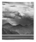Rains In China Fleece Blanket by Whitney Goodey
