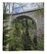 Ravenna Gorge Viaduct 05 Fleece Blanket