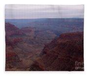 Red Grand Canyon Fleece Blanket