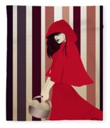 Red Riding Hood Fleece Blanket