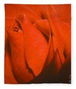 Red Rose Special Fleece Blanket