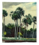 Red Shrt, Homosassa, Florida Fleece Blanket