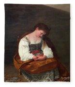 Repentant Mary Magdalene Fleece Blanket