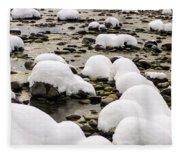 Rhine Winter Fleece Blanket