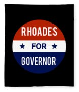 Rhoades For Governor 2018 Fleece Blanket