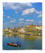Richmond Upon Thames - Panorama Fleece Blanket