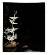 Rise Up And Fly Fleece Blanket