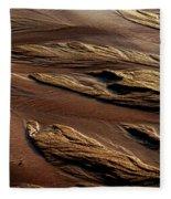 River Of Sand Fleece Blanket
