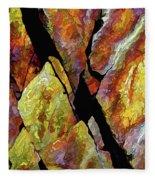 Rock Art 17 Fleece Blanket