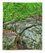 Rock On Green's Hill Fleece Blanket