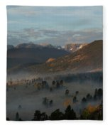 Rocky Mountain National Park - 2246-2 Fleece Blanket