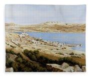 rovine a Tiberiade Fleece Blanket