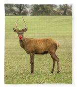 Rudolph The Red Nosed Reindeer Fleece Blanket