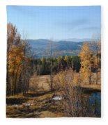 Rural Montana Fleece Blanket
