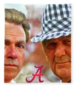 Saban And Bear Fleece Blanket