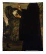 Saint Benedict  Fleece Blanket