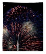 Saint Louis Missouri 4th July 2018 Fleece Blanket