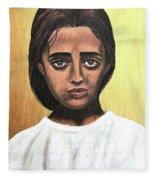 Saint Maria Goretti Fleece Blanket