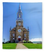 Saint Peter's Catholic Church Fleece Blanket