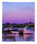 Sakonnet Point Boats Fleece Blanket
