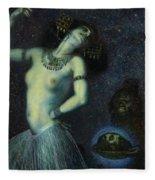 Salome, 1906 Fleece Blanket