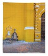 San Gabriel Tombs Fleece Blanket