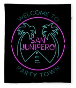 San Junipero Fleece Blanket