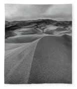 Sand Dune Ridge Fleece Blanket