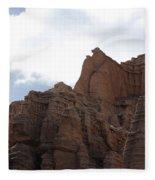 Sandstone Hoodoos Fleece Blanket